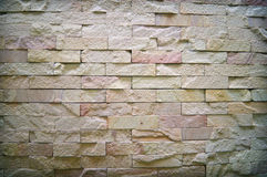Block wall background and texturure Royalty Free Stock Images