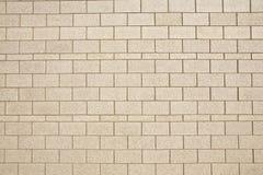 Block-Wand für Beschaffenheit/Hintergrund Stockfotografie