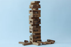 Block wood toy Royalty Free Stock Images