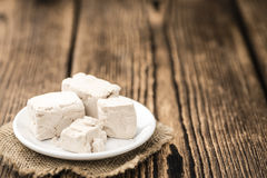Block of Yeast (selective focus) Stock Photography
