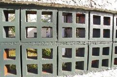 Block-Zaun Stockbild