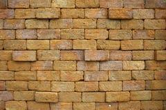 Blockbacksteinmauer Stockbilder