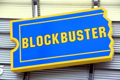 Blockbuster Stock Image