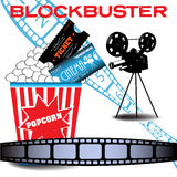 Blockbuster movie stock images