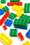 blockbyggande Arkivfoto