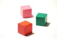 blockbyggande Arkivbild
