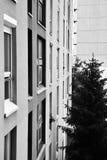 blockbyggnadssocialist Arkivbilder