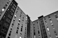 blockbyggnadssocialist Arkivfoton