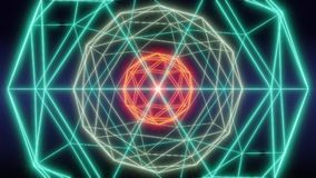 Blockchain技术网络摘要圈动画 影视素材
