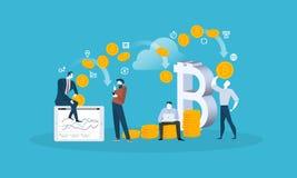 Blockchain бесплатная иллюстрация