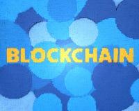 Blockchain, cryptocurrency Stockbilder