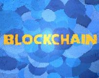 Blockchain, cryptocurrency Stockfotografie