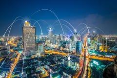Blockchain nätverkscryptocurrencies begrepp, är ett oförstörbart royaltyfri foto