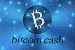 Blockchain network cryptocurrencies concept, is an incorruptible digital ledger of economic transactions. Blockchain network cryptocurrencies concept, is an Royalty Free Stock Photography