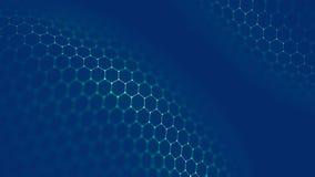Blockchain technologii tło Cryptocurrency fintech blokowego łańcuchu sieć i programowania pojęcie Abstrakcjonistyczny Segwit zdjęcie stock