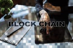 Blockchain technology concept. Internet money transfer. Cryptocurrency. Blockchain technology concept. Internet money transfer. Cryptocurrency royalty free stock photos