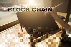 Blockchain technology concept. Internet money transfer. Cryptocurrency. Blockchain technology concept. Internet money transfer. Cryptocurrency stock photos