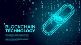 Blockchain Vector. Global Network Technology. Digital Asset. Cooperation Business Concept. Illustration. Blockchain Vector. Finance Business Concept. Peer Stock Photo