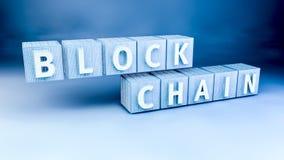 Blockchain-Verschlüsselungskonzept Lizenzfreies Stockfoto