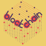Blockchain volume square Royalty Free Stock Images