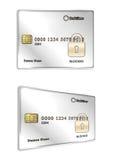 Blocked credit card Royalty Free Stock Photos
