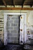 Blocked doorway stock images