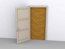 Blocked doorway Stock Photos