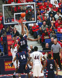 A Blocked Shot by Derrick Williams Stock Photography
