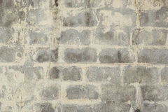 Blocked wall texture. There is blocked wll with natural rough cement texture royalty free stock images