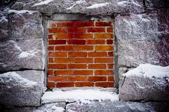 Blocked window Stock Images