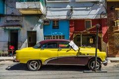 Blockerad bil fotografering för bildbyråer