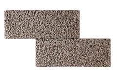 blockerar betong Arkivbild