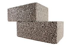 blockerar betong Royaltyfri Fotografi