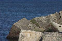 blockerar betong Fotografering för Bildbyråer