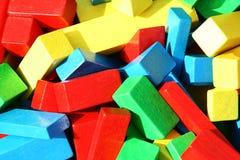 blockerar färgrikt Fotografering för Bildbyråer