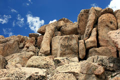 blockerar granit Royaltyfri Foto