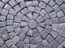 blockerar granitgatan Arkivbilder