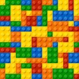 blockerar konstruktionsplast- Arkivbild