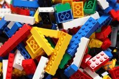 blockerar lego Arkivbilder