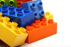 blockerar lego Arkivfoto