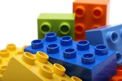 blockerar lego Fotografering för Bildbyråer