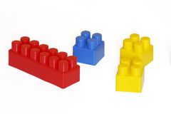 blockerar lego royaltyfria bilder