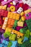 blockerar lego royaltyfri foto