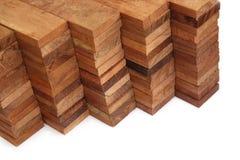 blockerar trä Royaltyfri Foto