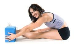 blockerar yoga Royaltyfria Foton