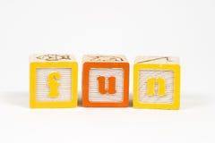 blockgyckelbokstäver royaltyfria bilder