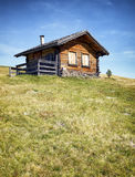 Blockhaus Stockfoto
