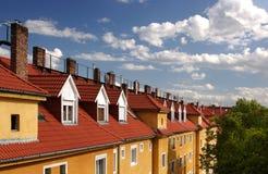 Blockhaus Stockbild