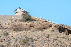 Blockhaus auf Koeelkop in Carnavon Lizenzfreies Stockbild