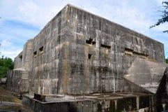 Blockhaus d Éperlecques Stockbild